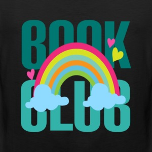 Book lover - Book club rainbow T-shirt - Men's Premium Tank
