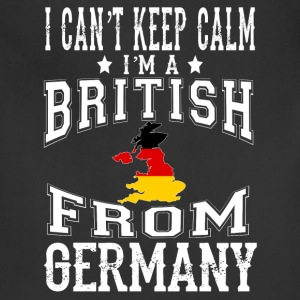 British from Germany - I can't keep calm - Adjustable Apron