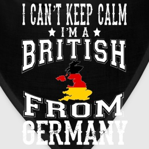 British from Germany - I can't keep calm - Bandana