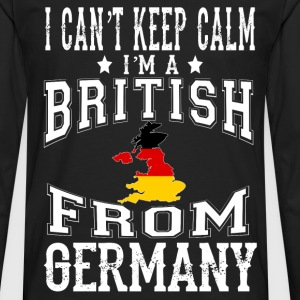 British from Germany - I can't keep calm - Men's Premium Long Sleeve T-Shirt