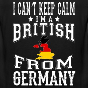 British from Germany - I can't keep calm - Men's Premium Tank