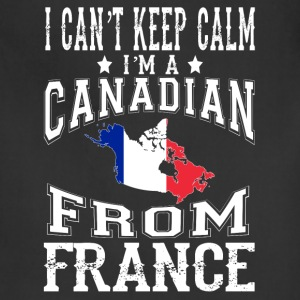 Canadian from France - I can't keep calm - Adjustable Apron