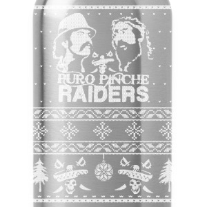 Christmas sweater for Puro Pinche Raiders - Water Bottle