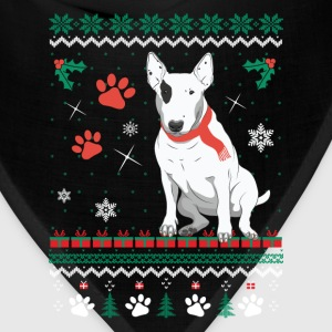 Christmas sweater for Bull Terrier fan - Bandana