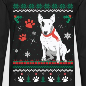 Christmas sweater for Bull Terrier fan - Men's Premium Long Sleeve T-Shirt