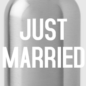 Just Married T-Shirts - Water Bottle