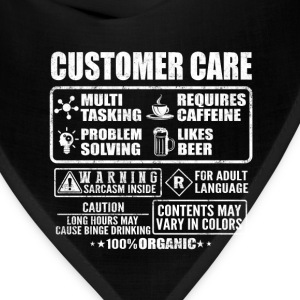Customer care - Contents may vary in colors - Bandana