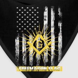 Freemason flag T-shirt - Bandana