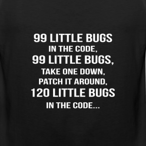 Code - Patch it around 120 little bugs in the code - Men's Premium Tank