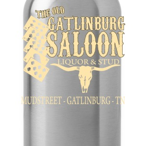 Curiosities of London - The old Gatlinburg saloon - Water Bottle