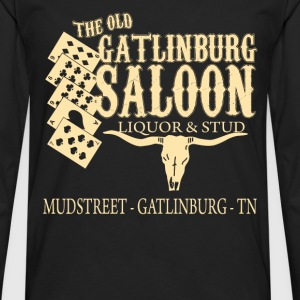 Curiosities of London - The old Gatlinburg saloon - Men's Premium Long Sleeve T-Shirt
