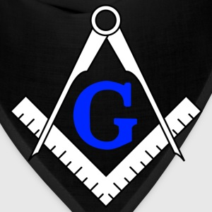Freemason polo T-shirt - Compass and ruler - Bandana