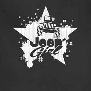 Jeep girl - Star and snow T-shirt - Adjustable Apron