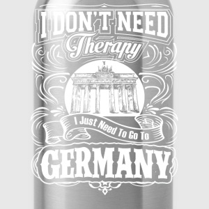 Need to go to Germany - I don't need therapy - Water Bottle