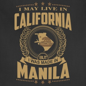 Made in Manila - I may live in California - Adjustable Apron