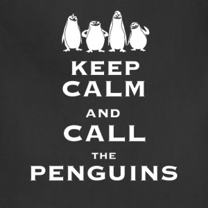 Keep calm and call the Penguins - Adjustable Apron