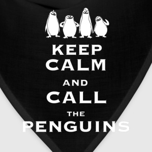 Keep calm and call the Penguins - Bandana
