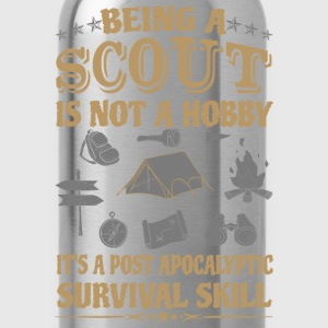 Scout - It's a post apocalyptic survival skill - Water Bottle