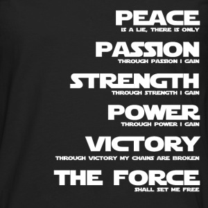 Sith - Through victory my chains are broken - Men's Premium Long Sleeve T-Shirt