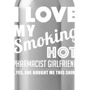 Smoking hot pharmacist girlfriend - Water Bottle