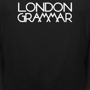 London Grammar Logo - Men's Premium Tank