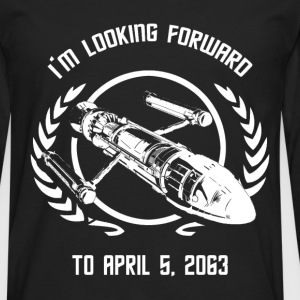 - I'm looking forward to April 5, 2063 - Men's Premium Long Sleeve T-Shirt