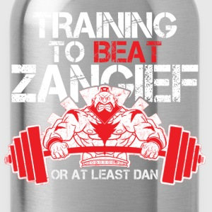 Street fighter - Training to beat Zangief - Water Bottle