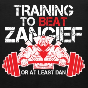 Street fighter - Training to beat Zangief - Men's Premium Tank