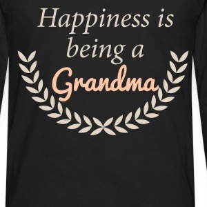 Happiness is being a Grandma - Men's Premium Long Sleeve T-Shirt