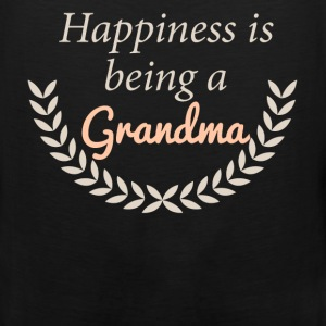 Happiness is being a Grandma - Men's Premium Tank