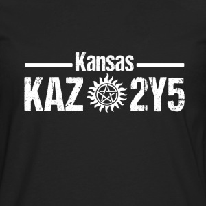 Supernatural fan - Kansas Kaz 2y5 - Men's Premium Long Sleeve T-Shirt