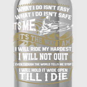 Snowmobiler - It's me It's the way I am - Water Bottle