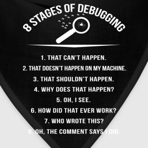 Stages of Debugging - Oh the comment says I did - Bandana