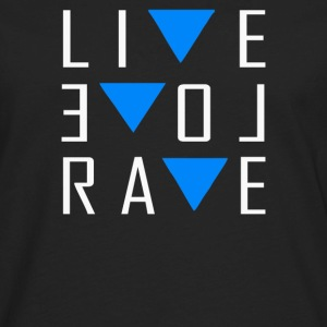 Live Love Rave - Men's Premium Long Sleeve T-Shirt