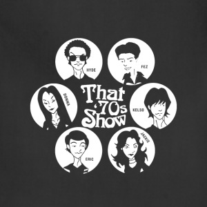 That '70s show - Hyde Fez Kelso Jackie Eric Donna - Adjustable Apron