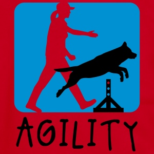 agility_dogsport_10_2016_2c T-Shirts - Unisex Fleece Zip Hoodie by American Apparel