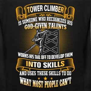 Tower climber - Do what most people can't - Men's Premium Tank