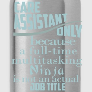 Care assistant only because a full-time multitaski - Water Bottle