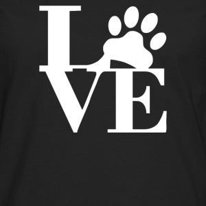 love paw - Men's Premium Long Sleeve T-Shirt
