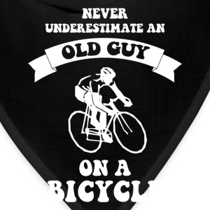 Never underestimate an old guy on a bicycle - Bandana