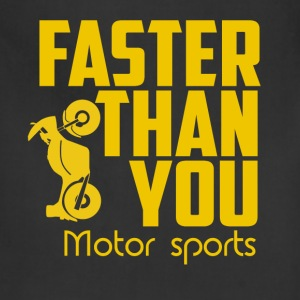 Faster then you. Motor sports. - Adjustable Apron