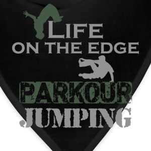 Life on the edge. Parkour Jumping. - Bandana