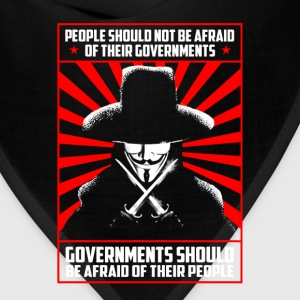 V for Vendetta - Governments should be afraid - Bandana