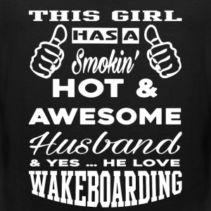 Wakeboarding - Smoking hot  - Men's Premium Tank