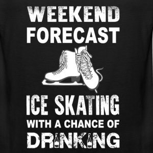 Weekend ice skating - With a chance of drinking - Men's Premium Tank