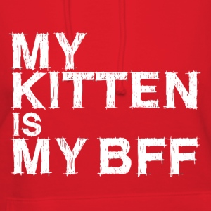 My Kitten is My BFF - Womens Flowy T-Shirt - Women's Hoodie