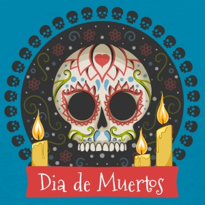 Sugar Skull - Day of the Dead #01 Tanks - Women's T-Shirt