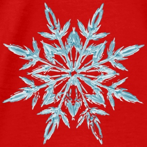 Christmas Ice Crystal Aprons - Men's Premium T-Shirt