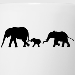 Elephants, Elephant T-Shirts - Coffee/Tea Mug