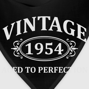 Vintage 1954 Aged to Perfection Hoodies - Bandana